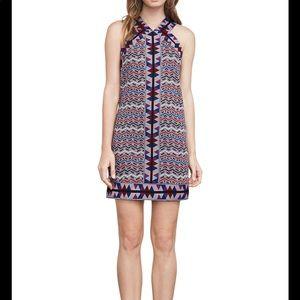 BcbgMaxazria Jacquard A-line dress